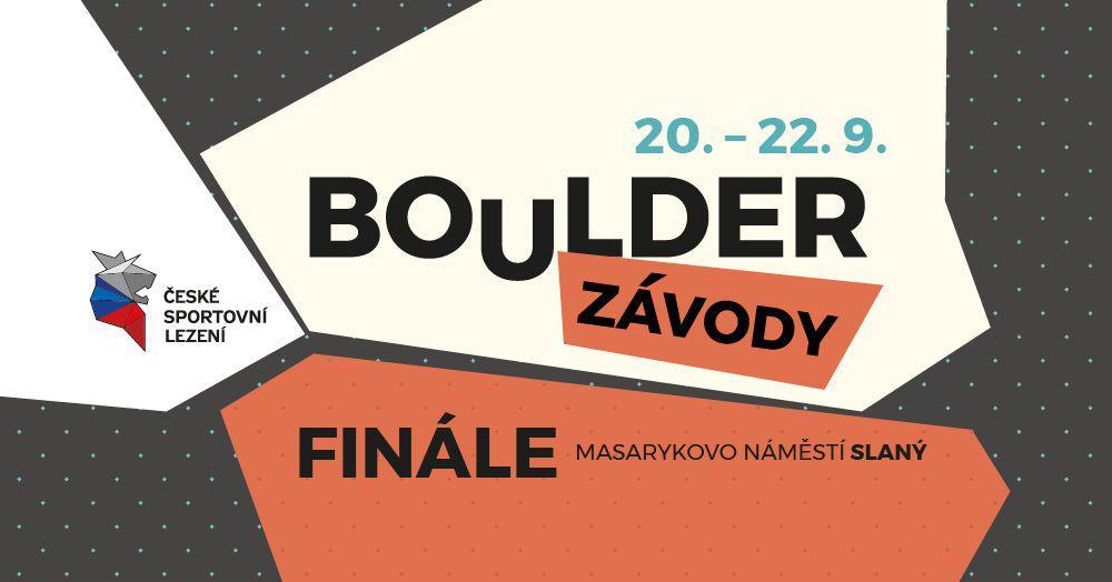 Finálové kolo BoulderZávodů a BoulderDětí - Slaný!