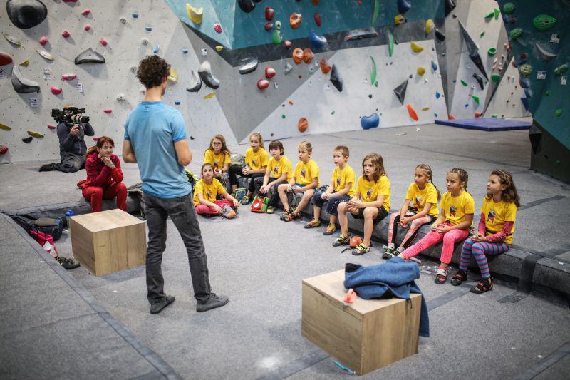 Report z tréninku BoulderDětí s Adamem Ondrou