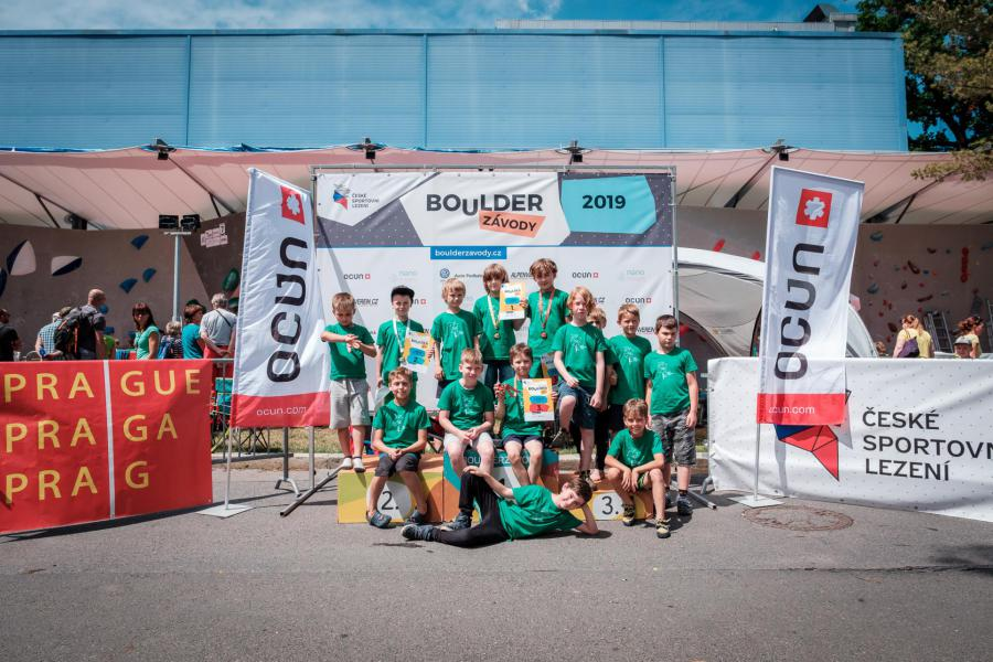 1.kolo BoulderDěti 2019