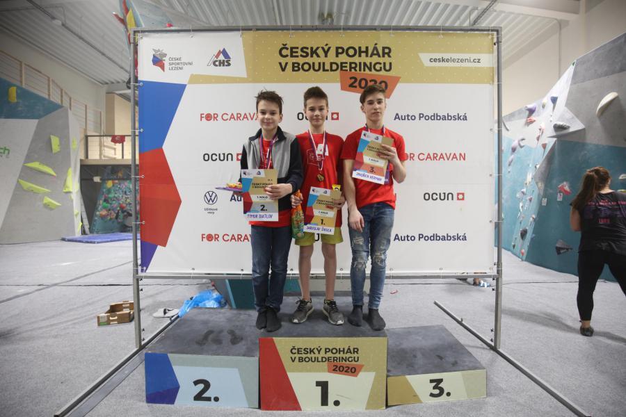 Český pohár v boulderingu - 1. kolo
